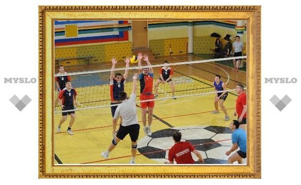 Тульские волейболисты выявляют полуфиналистов