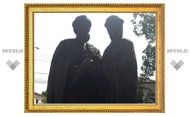 В Туле открыта скульптура святых Петра и Февронии