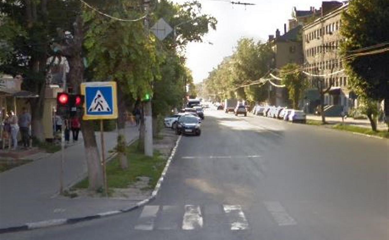 В Туле на пересечении улиц 9 Мая и Смидович светофор настроили по-новому
