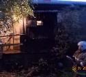 Утром в Липках загорелся жилой дом