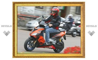 В Арсеньевском районе арестовали скутер