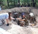 Тульские поисковики нашли родственников красноармейца, погибшего в 1942 году