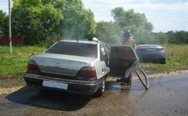 В Куркинском районе столкнулись две иномарки: пострадавших нет