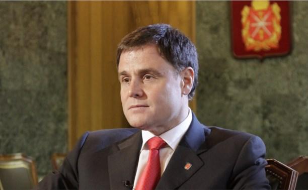 Владимир Груздев занял третью строчку рейтинга глав регионов ЦФО