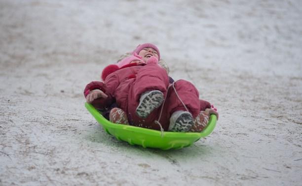 В Новомосковске построят ледяную горку