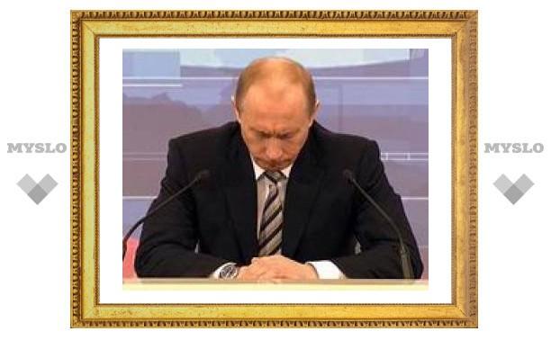 Россияне считают, что Путин не справился с коррупцией