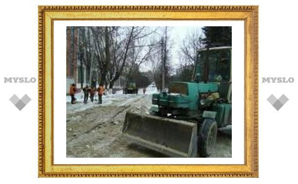 В Туле улицу Фрунзе закрыли на ремонт