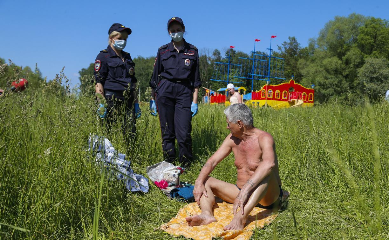 Тульские полицейские провели «пляжный» рейд: фоторепортаж