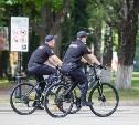 В Туле начал работу полицейский велопатруль