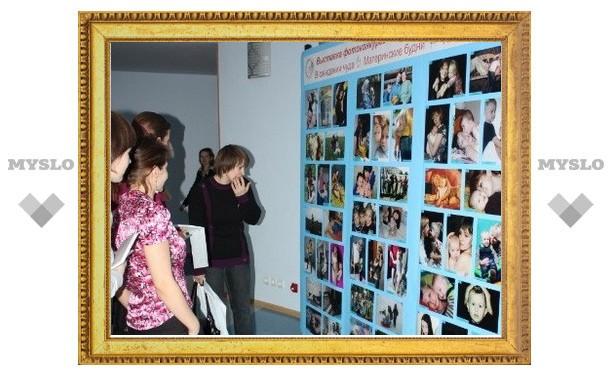 В Новомосковске сфотографировали «Материнскую любовь»