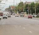 Ремонт проспекта Ленина в Туле завершен