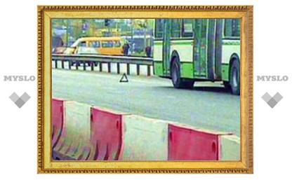 Взрыв в рейсовом автобусе в Москве: двое пострадавших