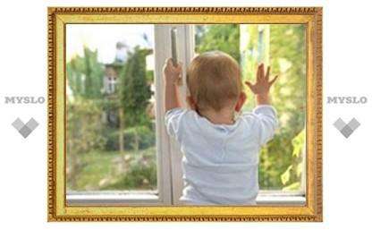В Туле снова из окна выпал ребенок
