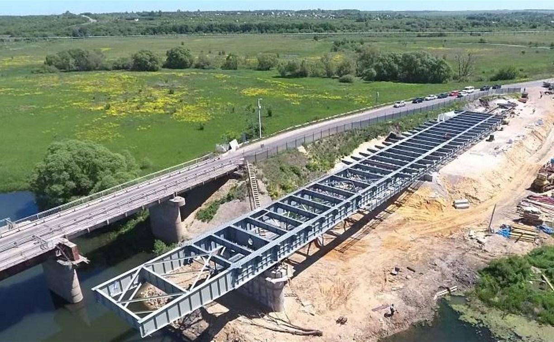 С 10 июня в Ефремовском районе закроют мост через реку Красивая Меча