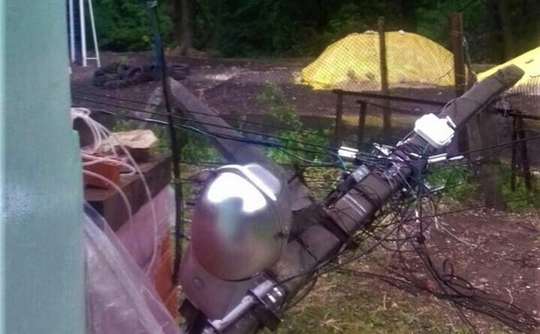 Власти Тулы об отключении электричества в Скуратово: «Опору ЛЭП повредил грузовик»