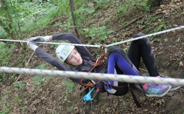 Юные тульские спасатели готовятся к соревнованиям «Школы безопасности»