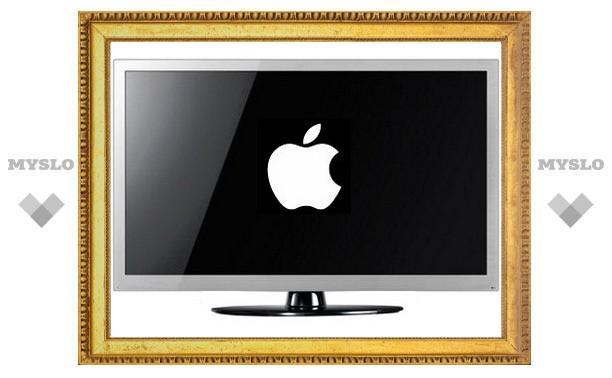 Apple начнет продавать телевизоры