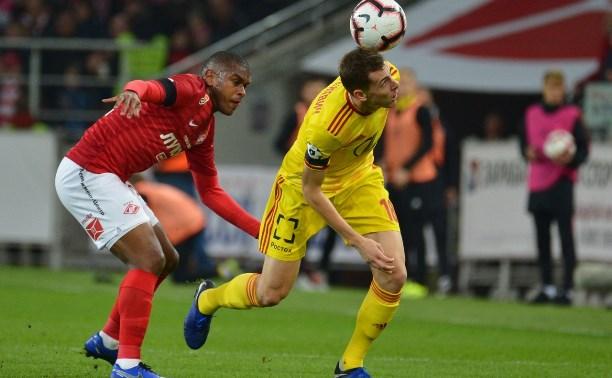 «Арсенал» переиграл «Спартак» на выезде: 3:2