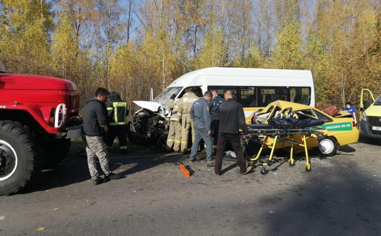Страшное ДТП с маршруткой под Кимовском: количество пострадавших увеличилось