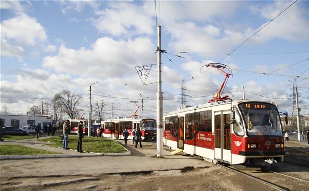 В Туле запустили пять новых трамваев