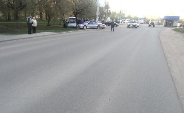 В Узловой 18-летний мотоциклист сбил женщину-пешехода