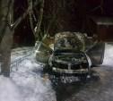 Под утро на Косой Горе сгорел «Рено Дастер»