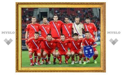 Сборная России сменила место дислокации на Евро-2012