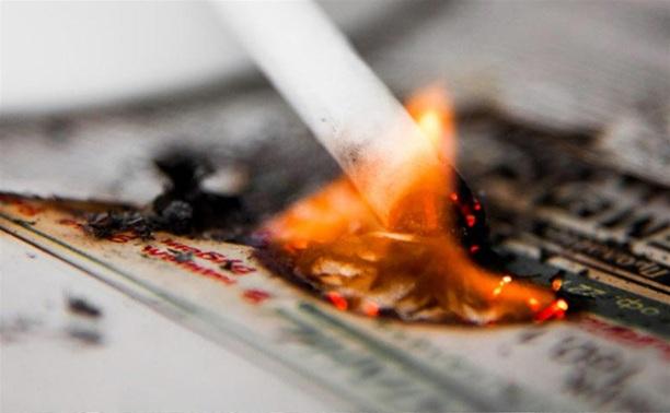 В Алексине сгорела комната в частном доме