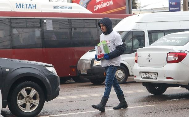 «Благотворители» на тульских перекрёстках: дать денег или звонить в полицию?