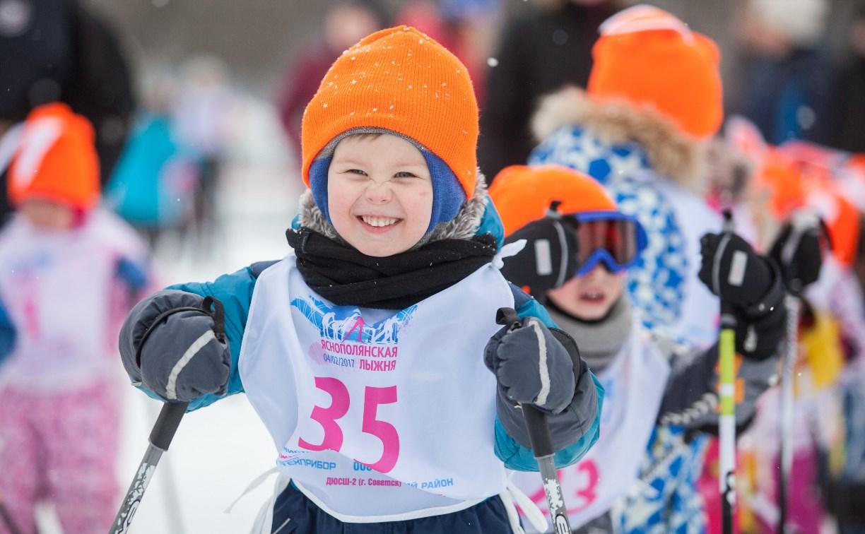 «Яснополянская лыжня – 2017»: Фоторепортаж