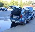 В центре Тулы столкнулись «семёрка» и Renault Duster: фоторепортаж