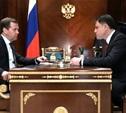 Владимир Груздев поздравил Дмитрия Медведева с днем рождения