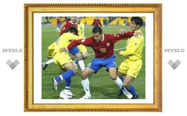 Футбольная сборная Казахстана одержала первую в истории победу в Европе