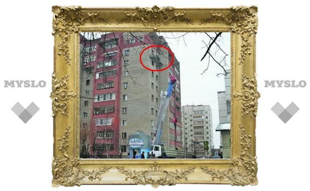 Почему рухнул балкон на тульской высотке?