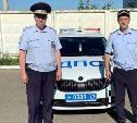 В Тульской области двое инспекторов ГИБДД помогли раненому ребенку добраться до больницы