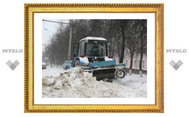 Глава города потребовал убрать снег