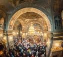 В Успенском соборе Тулы прошло Пасхальное богослужение