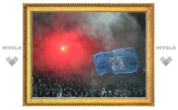 Мосгордума введет штрафы за пронос пиротехники на стадионы