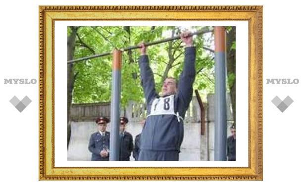 В Туле соревнуются милиционеры
