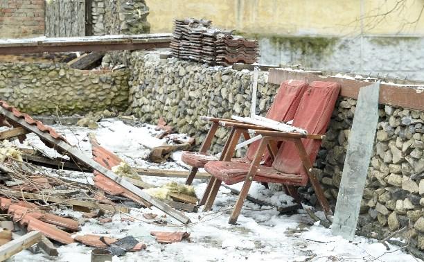 В центре Тулы снесли кафе, в котором нашли мумию