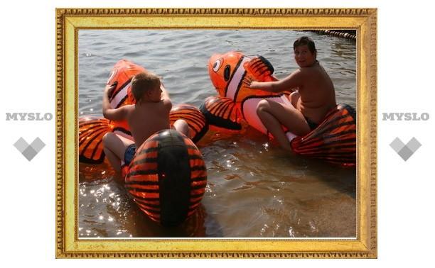 «Слобода» устроила «рыбные гонки» в «Голубой Воде»