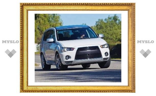 Mitsubishi Outlander переделали в Evolution