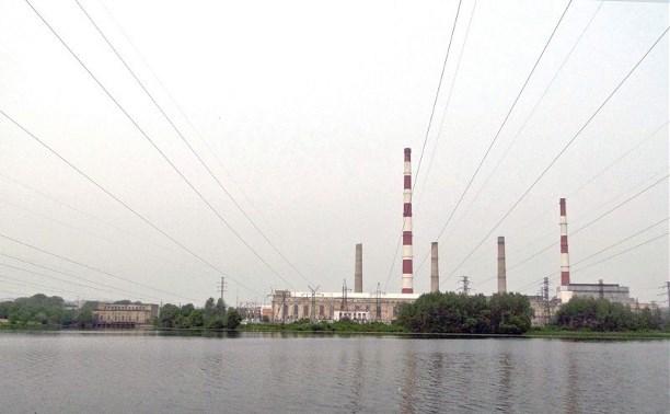 На Щёкинской ГРЭС произошло возгорание
