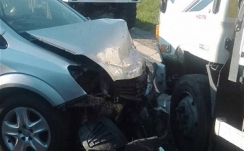 В массовом ДТП под Тулой пострадали пять человек