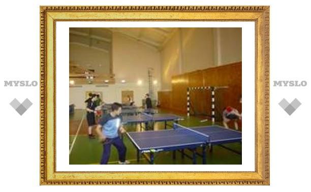 Соревнования по настольному теннису в Туле