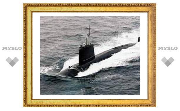 Французская подлодка столкнулась с морским дном