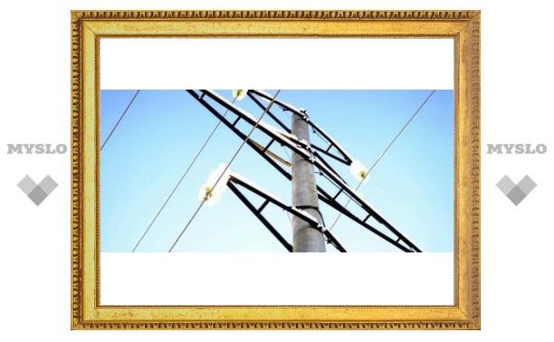 В Туле заменят аварийные столбы
