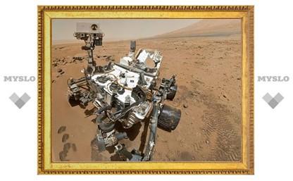 «Кьюриосити» начал бурить поверхность Марса