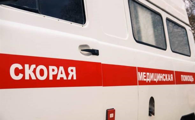 В Щекино мужчину сбил поезд