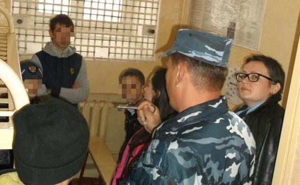 Школьники Белёвского района посетили СИЗО